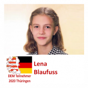 Lena Blaufuß DEM Teilnehmerin 2020