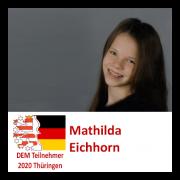 Mathilda Eichhorn DEM Teilnehmerin 2020