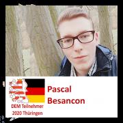 Pascal Besancon DEM Teilnehmer 2020